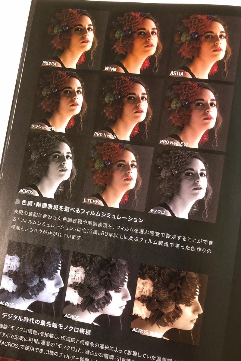 FUJIFILMフィルムシミュレーション