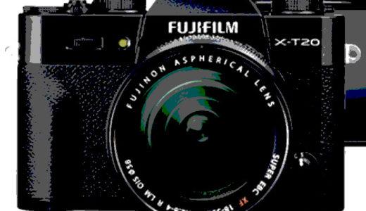 α9ユーザーおすすめのカメラ FUJIFILM X-T20
