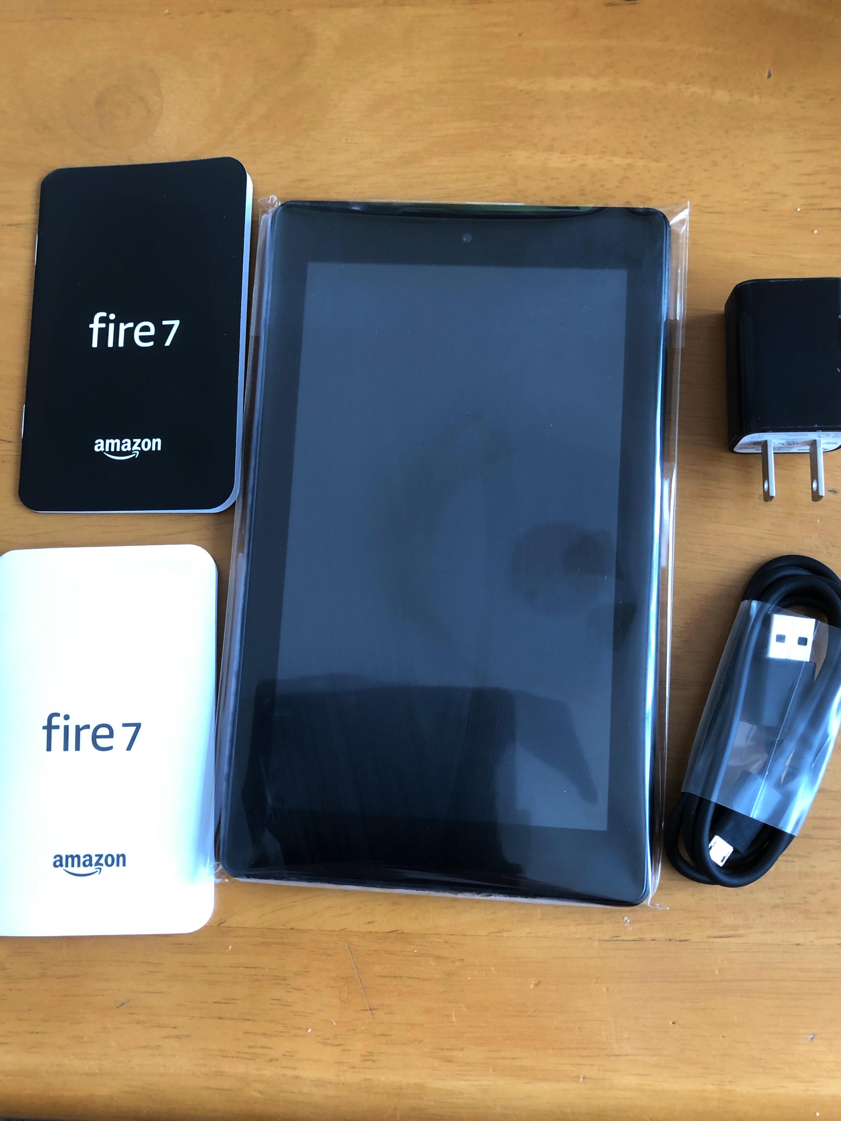 Amazon Fire7タブレットで出来ること 2020年版 Foto Blog
