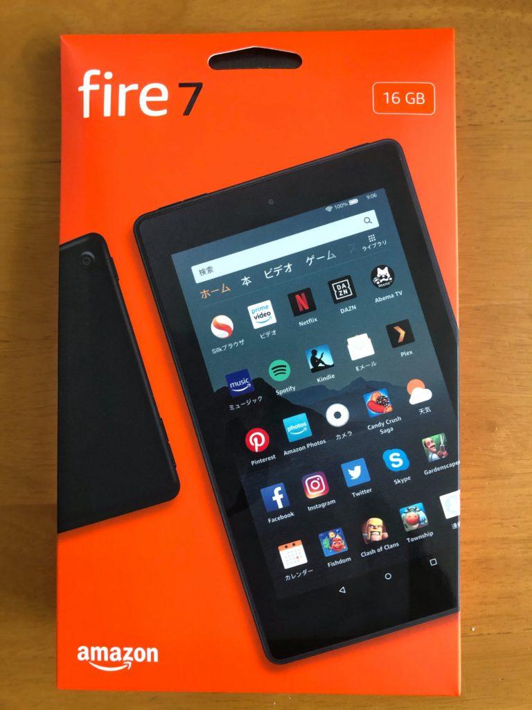 2020年版 Amazon Fire7タブレットで出来ないこと Foto Blog