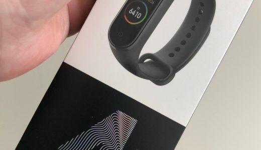 Xiaomi Mi band 4 のここがすごいライフログ編