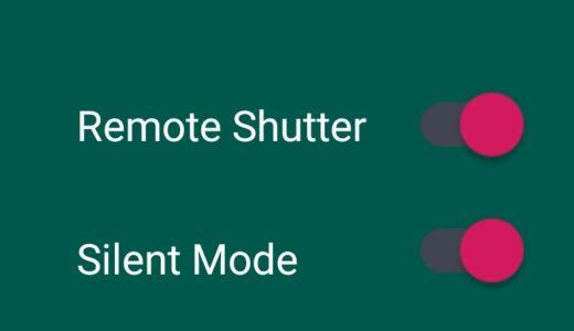 Mi Smart Band 4をカメラのリモコンにしよう Android専用