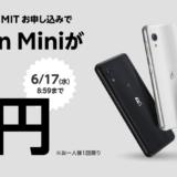 Rakuten Mini 実店舗では2000ポイントの紹介特典が使えた